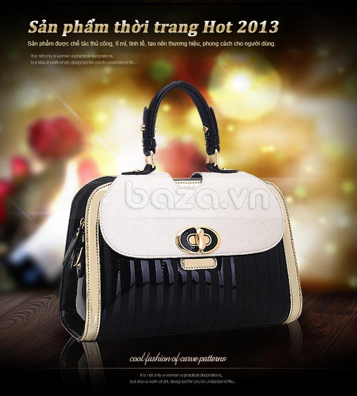 Baza.vn:  Túi xách thời trang nữ Binnitu phong cách cổ điển sản phẩm thời trang thu hút