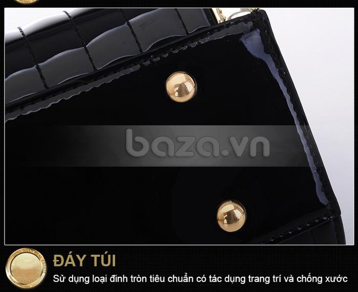 Baza.vn:  Túi xách thời trang nữ Binnitu phong cách cổ điển chất liệu da chống xước hiệu quả