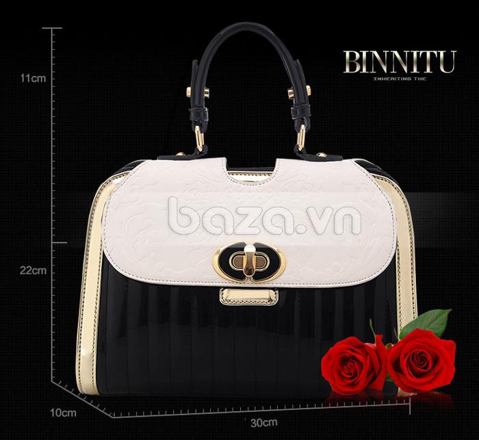 Baza.vn: Túi xách thời trang nữ Binnitu phong cách cổ điển đẳng cấp vượt trội