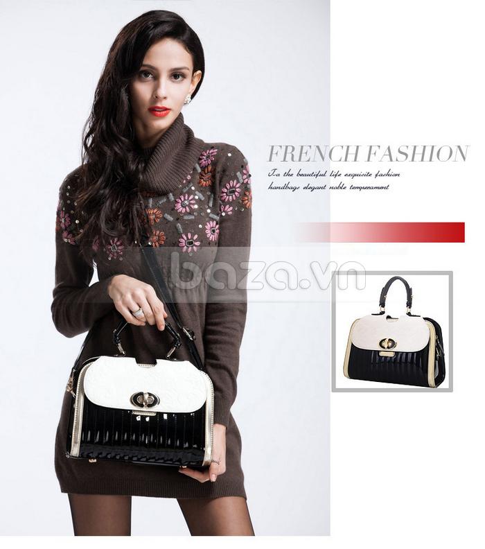 Baza.vn: Túi xách thời trang nữ Binnitu phong cách cổ điển dễ mix đồ