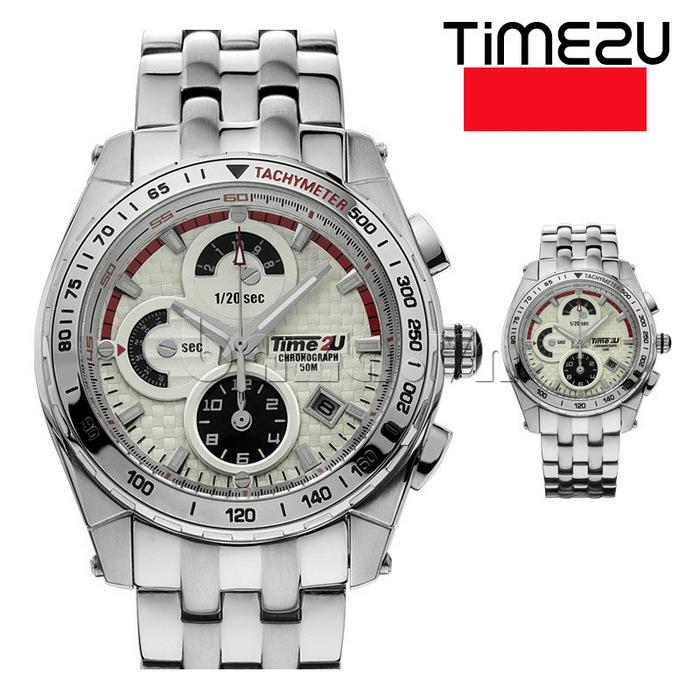 Đồng hồ nam Time2U Phong Cách Mạnh Mẽ cuốn hút