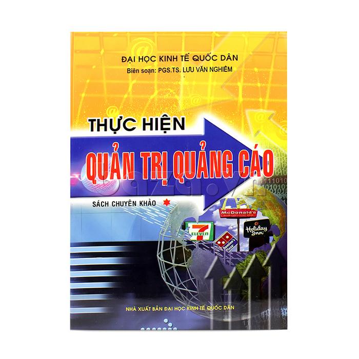 bìa trước sách Thực hiện quản trị quảng cáo - Tập 1
