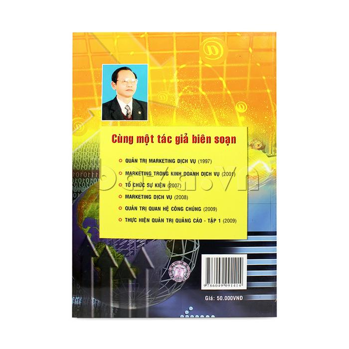 bìa sau sách Thực hiện quản trị quảng cáo - Tập 1
