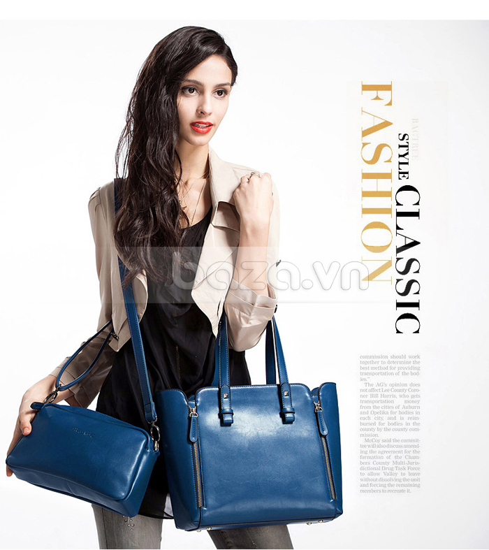 Túi nữ thời trang Binnitu 1733 mang tới vẻ đẹp quyến rũ cho các cô nàng