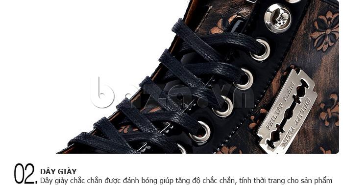 Dây Giày da nam CDD 8259 được đánh bóng để tăng độ chắc chắn và tính thời trang