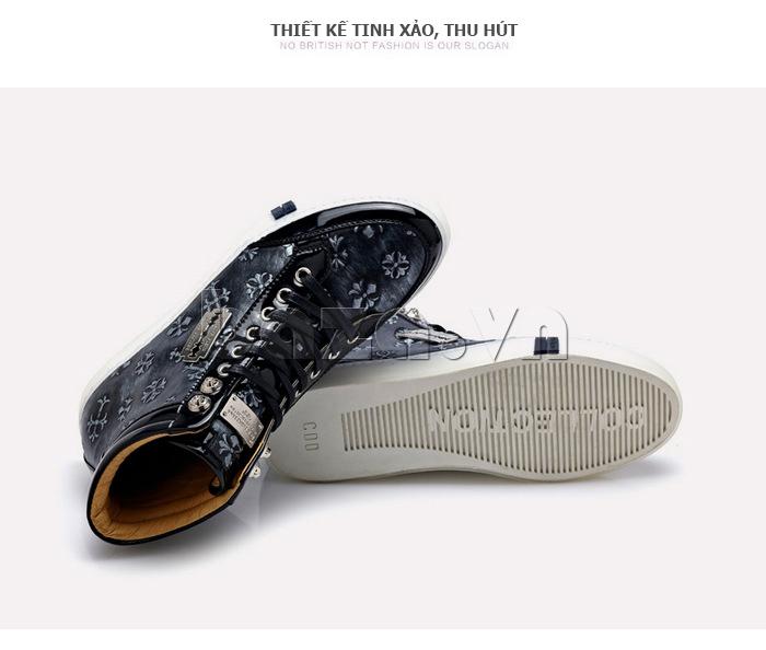 Giày da nam CDD 8259 phong cách casual cho bạn thêm cá tính