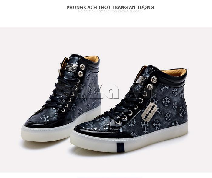 Giày da nam CDD 8259 thiết kế đầy tinh xảo và thu hút