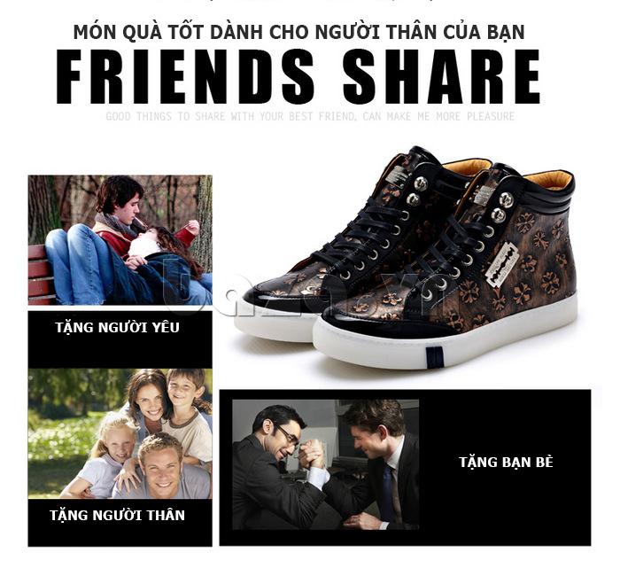 Giày da nam CDD 8259 - Món quà ý nghĩa dành tặng người thân