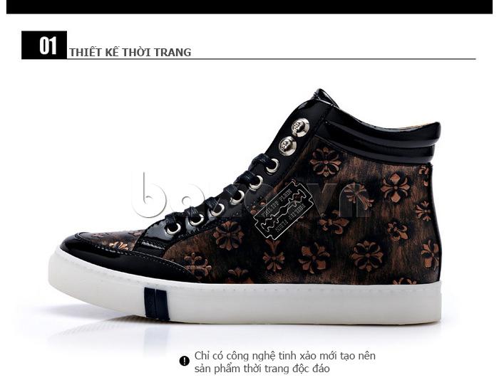 Giày nam CDD thiết kế thời trang