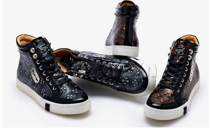 Giày casual nam CDD thiết kế cao cổ