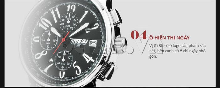 Đồng hồ nam Time2U phong cách ấn tượng