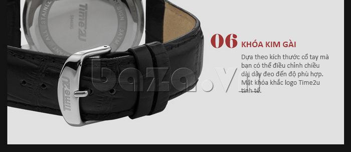 Đồng hồ nam Time2U Phong Cách Năng Động tinh tế và hoàn hảo