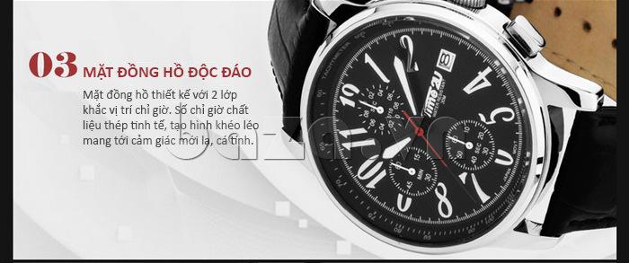 Đồng hồ nam Time2U Phong Cách Năng Động chất lượng cao