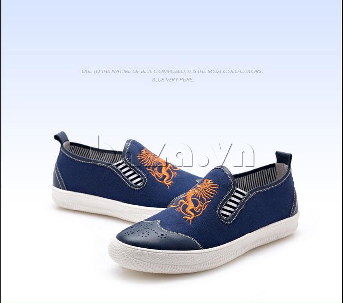 Giày da nam CDD 1259 sang trọng và cá tính