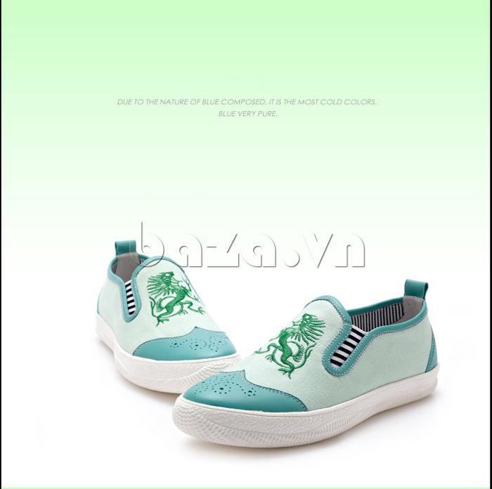 Giày da nam CDD 1259 ấn tượng