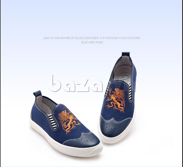 Giày da nam CDD 1259 dành cho nam giới cá tính