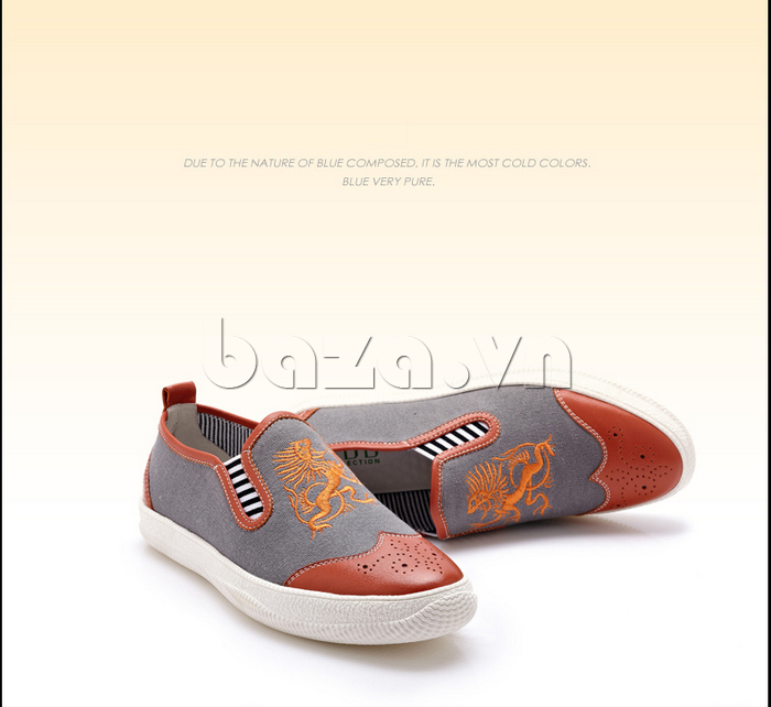 Giày da nam CDD 1259 thời trang
