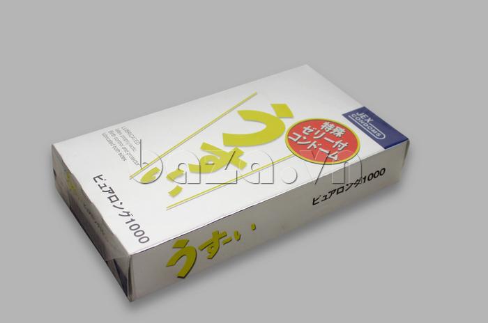 Bao cao su Jex từ Nhật Bản