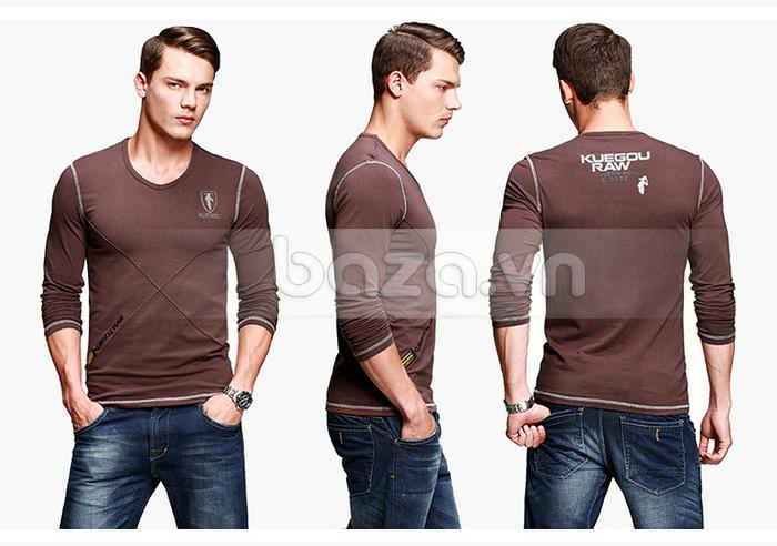 Baza.vn: Áo thu đông nam K-Jeans KT-8812 thu hút mọi ánh  nhìn