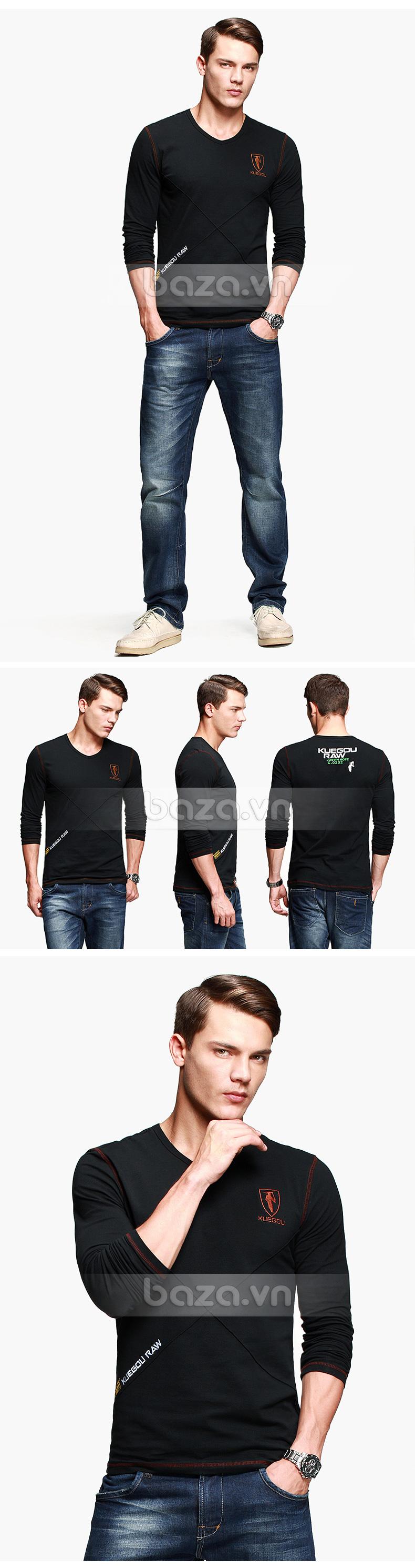 Baza.vn:  Áo thu đông nam K-Jeans KT-8812  cho chàng thêm nam tính