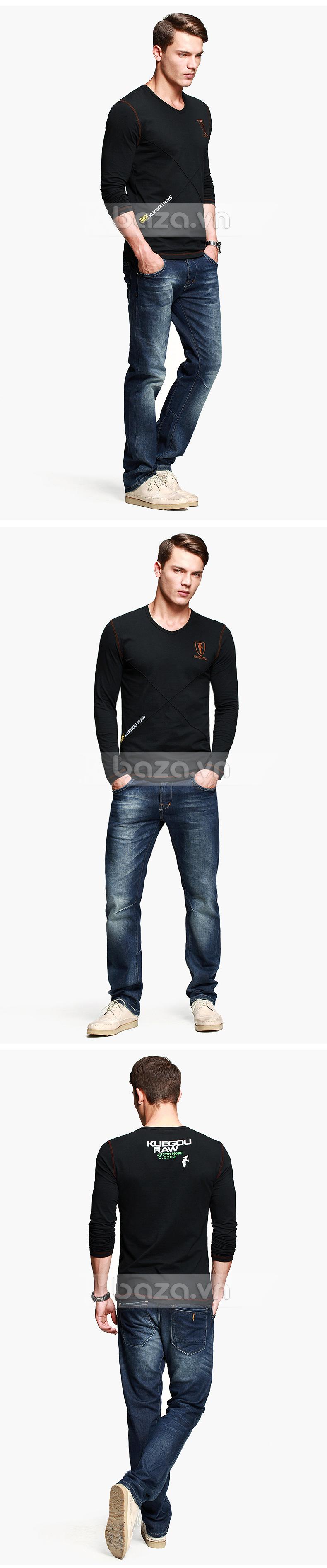 Baza.vn:  Áo thu đông nam K-Jeans KT-8812  chất lượng bền bỉ