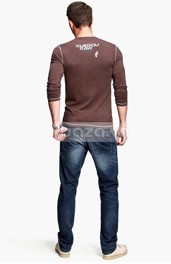 Baza.vn: Áo thu đông nam K-Jeans KT-8812 tôn vinh vẻ đẹp của bạn