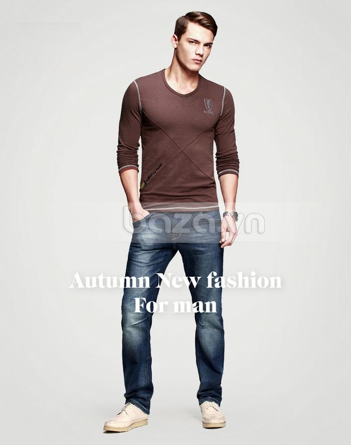 Baza.vn: Áo thu đông nam K-Jeans KT-8812 là sản phẩm bạn không nên bỏ qua