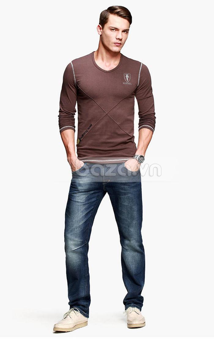 Baza.vn: Áo thu đông nam K-Jeans KT-8812 thiết kế độc đáo