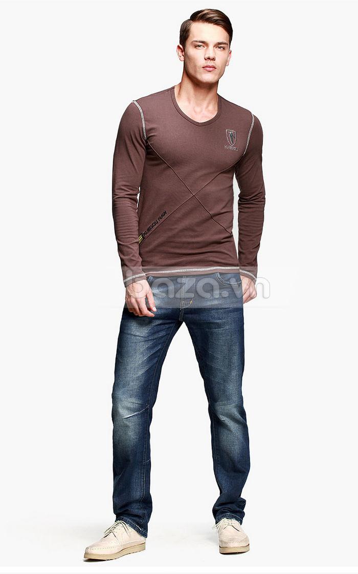 Baza.vn: Áo thu đông nam K-Jeans KT-8812 cuốn hút mọi ánh nhìn