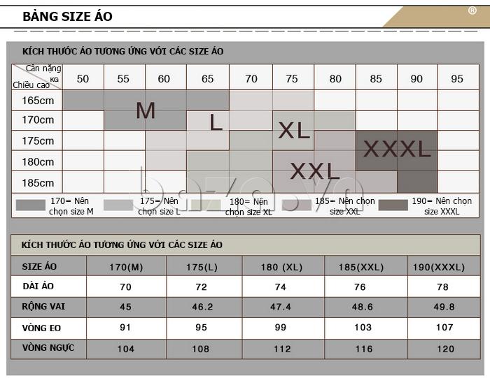áo nam thu đông Nleidun Z611  có đủ mọi kích cỡ