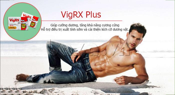 Thuốc tăng cường sinh lý nam giới Vigrx Plus giúp cường dương