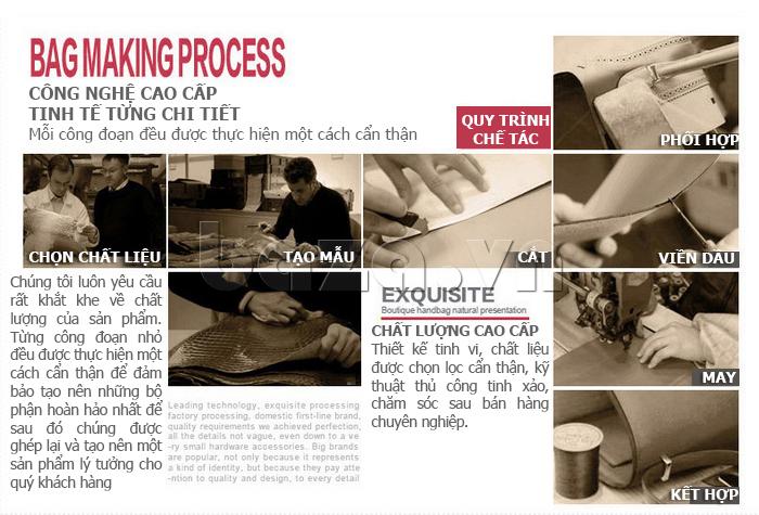 Túi xách nữ Binnitu B1393 Kiểu dáng độc đáo công nghệ chế tác công phu
