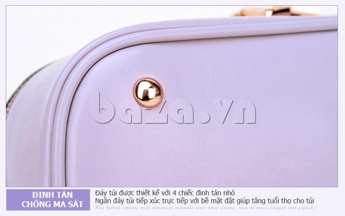 Túi xách nữ Binnitu B1393 Kiểu dáng độc đáo và đường nét đặc biệt