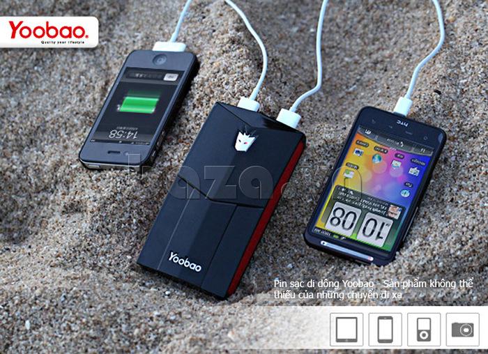 Pin dự phòng di động 13000mA Yoobao YB651 đẹp và lạ