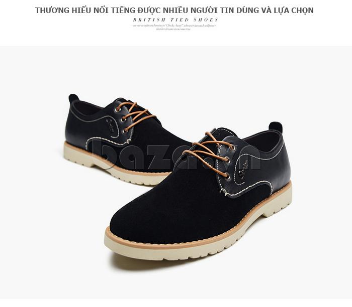 Giày da nam Simier 8118 sản phẩm được ưa chuộng