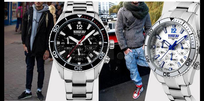 Đồng hồ doanh nhân nam Time2U 931892631001