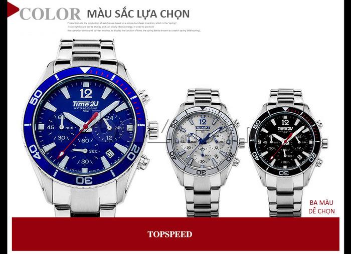 Đồng hồ nam thời trang Time2U 931892631001
