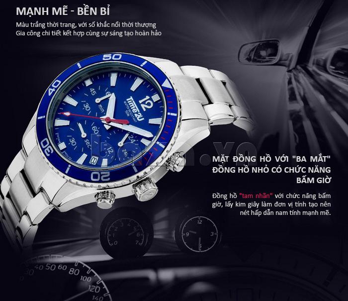 Đồng hồ nam Time2U 931892631001 kiểu dáng thời trang