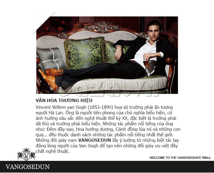 văn hóa thương hiệu của Giày da nam VANGOSEDUN VG78803 mũi nhọn thời thượng