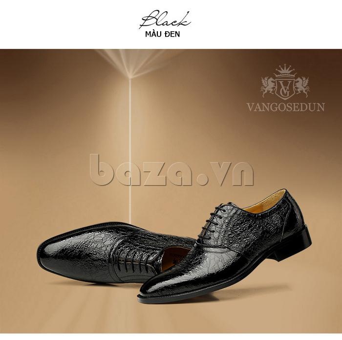 Giày da nam VANGOSEDUN VG78803 thể hiện đẳng cấp phái mạnh
