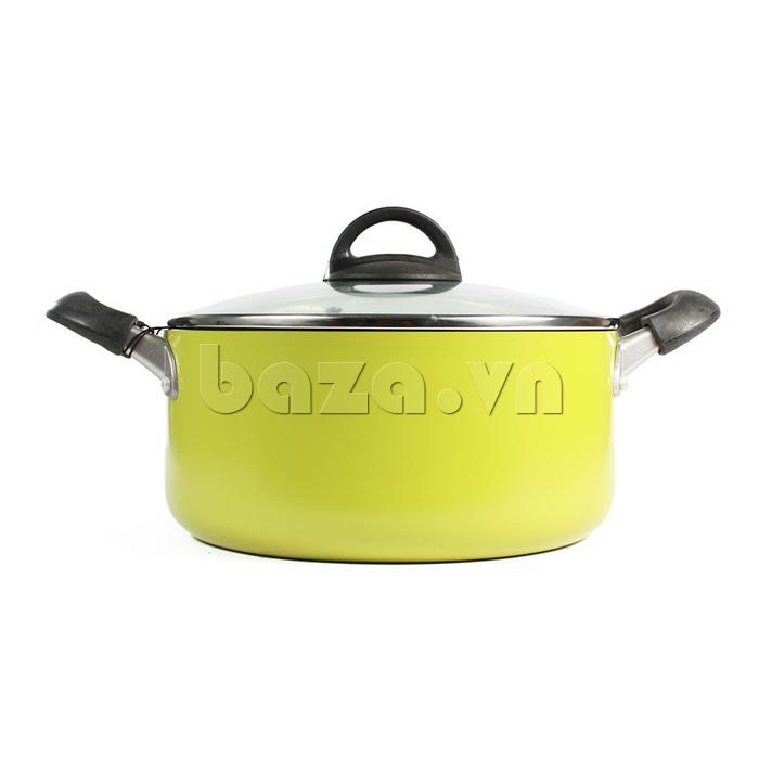 Nồi E-cook Deco Lock&Lock 24cm LED2242 tiện dụng an toàn