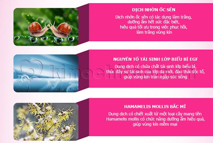 Dung dịch matxa, kích thích nhũ hoa các chất lượng bên trong sản phẩm