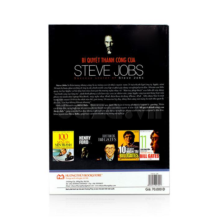 """Sách quản trị lãnh đạo """" Bí quyết thành công của Steve Jobs  """" Kim Thác Đao sách hay nên đọc"""