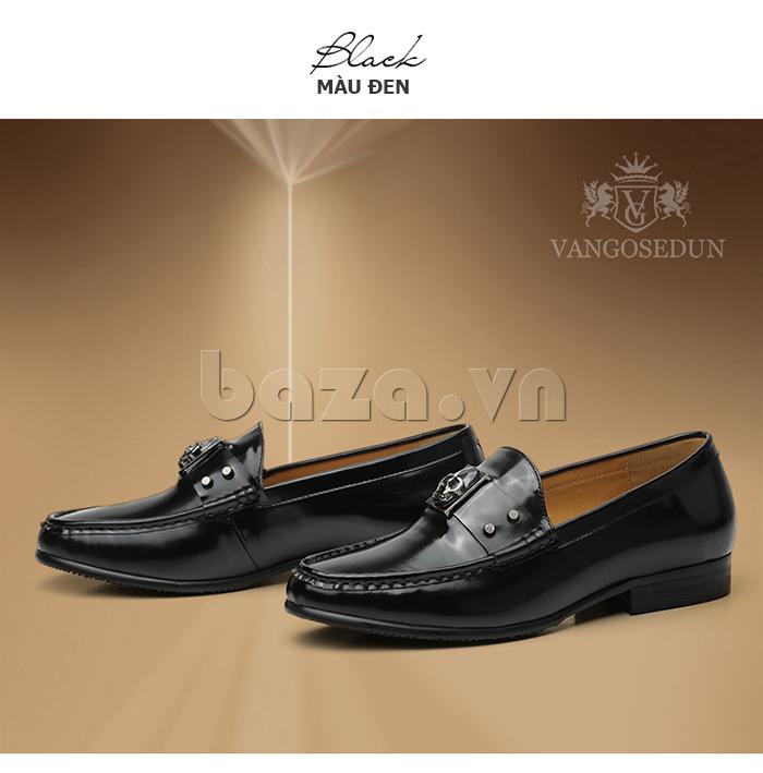 Giày lười nam VANGOSEDUN K01701 cá tính sắc màu