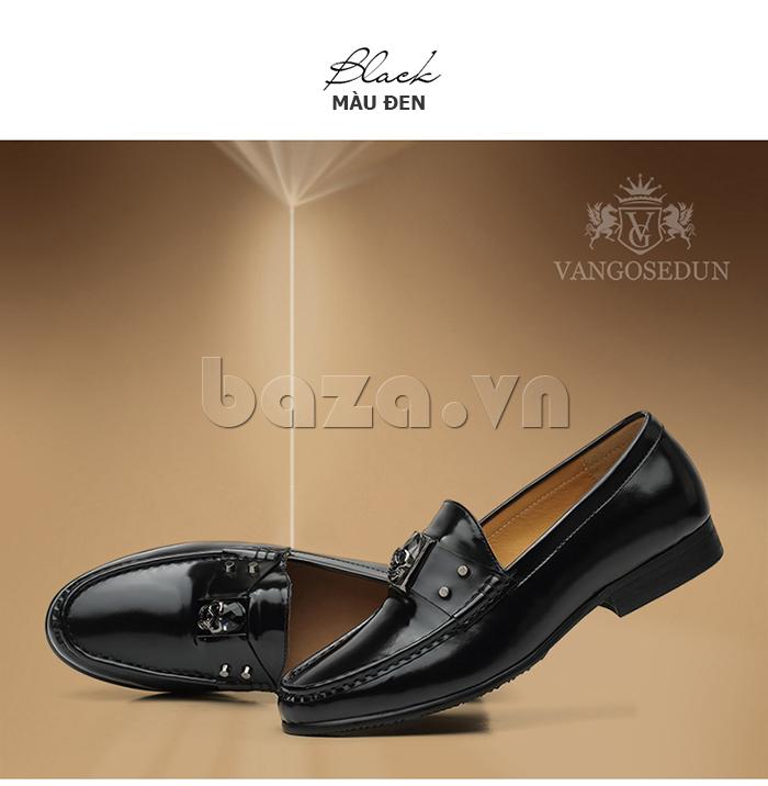 Giày lười nam VANGOSEDUN K01701 độc đáo cá tính