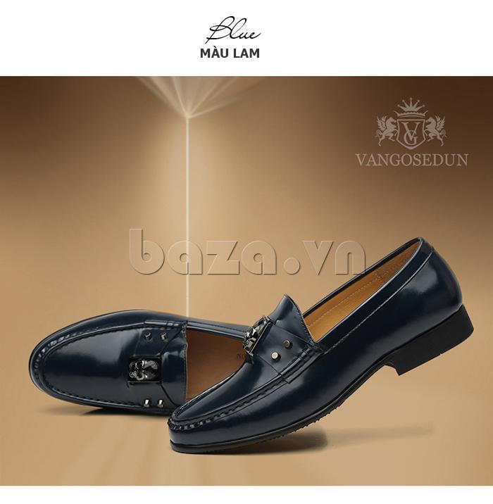 Giày lười nam VANGOSEDUN K01701 thời trang ngọt ngào