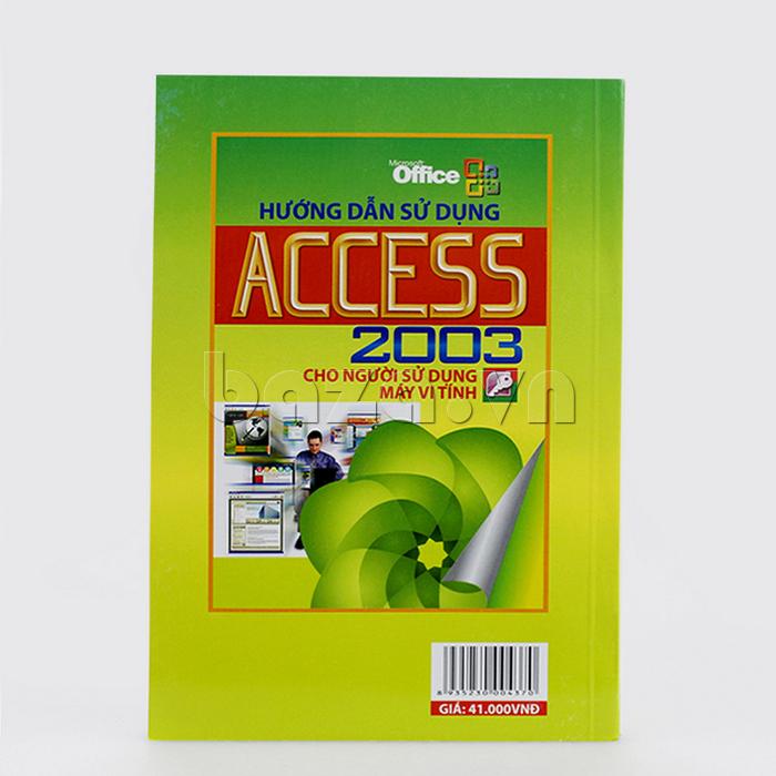 Hướng dẫn sử dụng ACCESS 2003 cho người sử dụng máy vi tính - Hà Thành