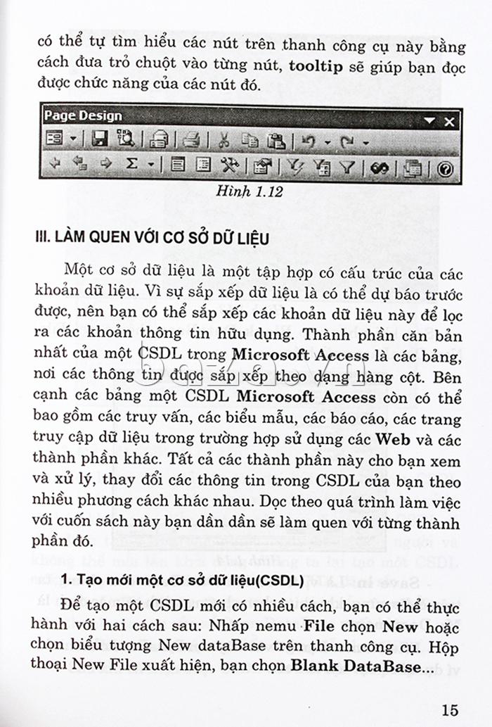 """Sách hay tại Baza """"Hướng dẫn sử dụng ACCESS 2003 cho người sử dụng máy vi tính"""""""