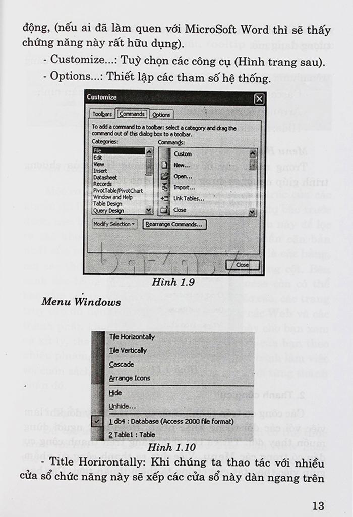 """""""Hướng dẫn sử dụng ACCESS 2003 cho người sử dụng máy vi tính"""" thuộc lĩnh vực tin học văn phòng"""