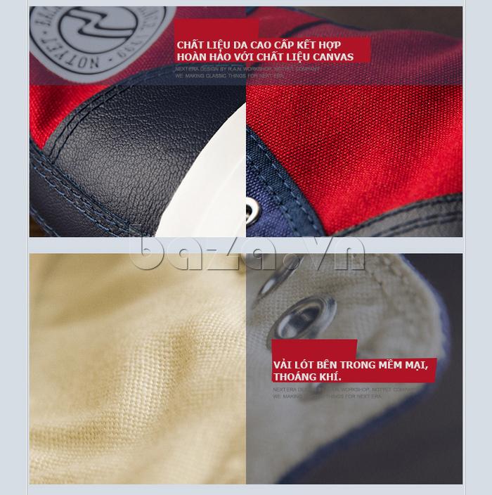Vải lót bên trong của Giày vải nam Notyet NY-ZY4154 mềm mại, thoáng khí